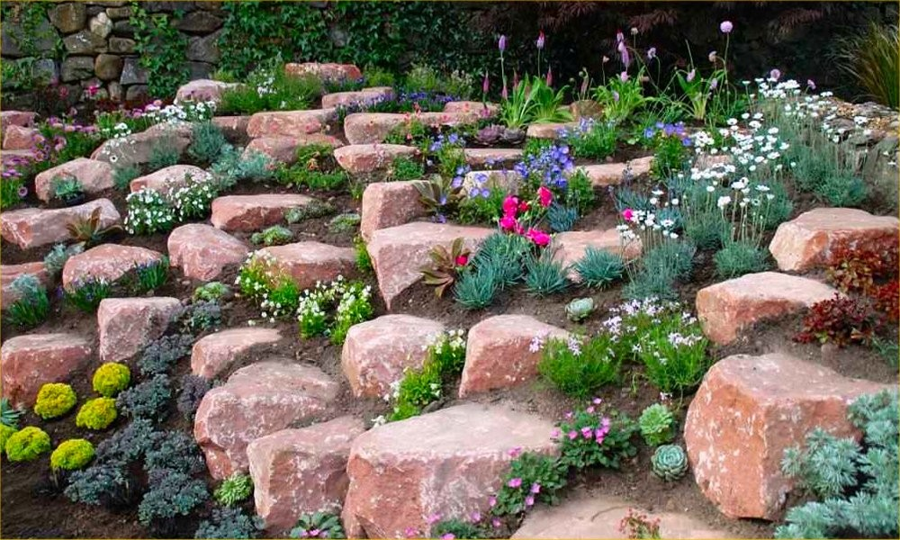 How To Make A Flower Bed With Rocks